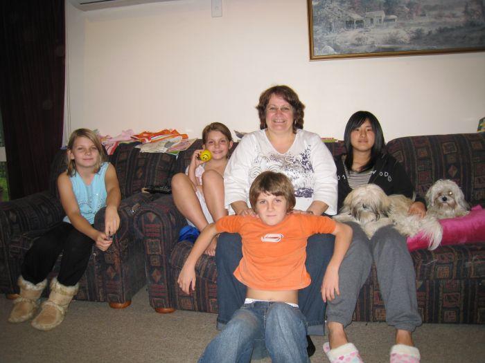 モリンスビルの家族