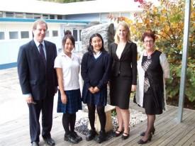 駐日NZ大使とMai,Chiaki