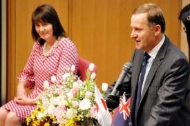 ニュージーランドのジョン・キー首相スピーチ