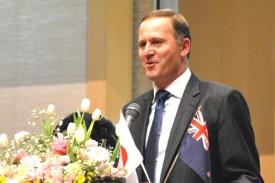 ニュージーランドのジョン・キー首相