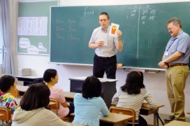 「イマージョン授業」を体験