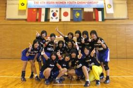 女子ユースアジア選手権