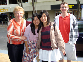 ハミルトン地区の生徒たち