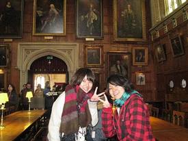 イギリス修学旅行