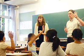 英語体験授業