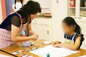 家庭科の体験授業