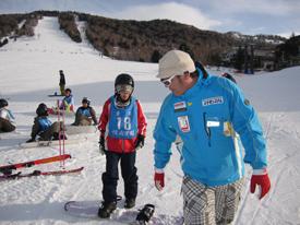 スノーボード講習