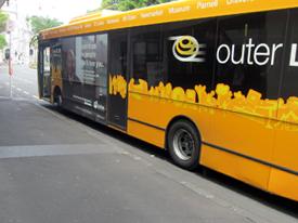 オークランドのリンクバス