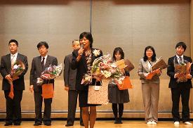 花束贈呈式