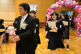 卒業を祝う会