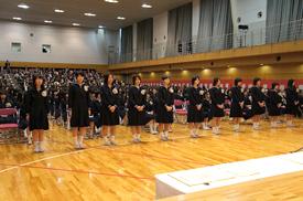 高等学校卒業式