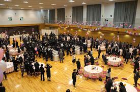 卒業生を祝う会
