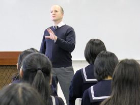 ロンドン大学SOAS校ウィリアム先生講演会