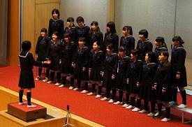 中学の部合唱