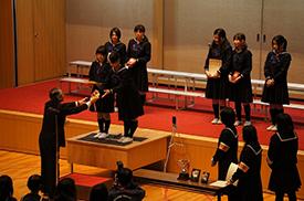 中学の部 表彰