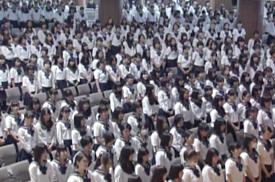 佼成学園創立記念式典