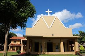 キリスト教の教会を訪問