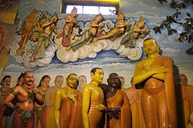 仏教寺院の仏像