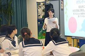 スーパーグローバルクラスの授業