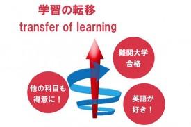 学習の転移(transfer of learning)