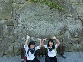 鶴ヶ城見学