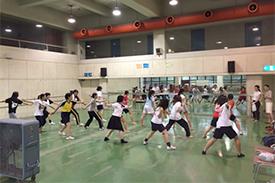 ICU&佼成女子合同練習会