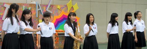 乙女祭でのステージ