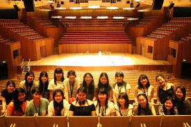 オペラハウスのコンサートホール