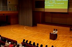 スーパーグローバルクラスの研究発表会