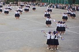 高3「扇の舞」