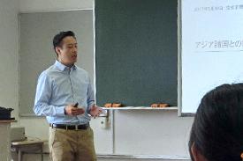林拓也教授 / 青山学院大学