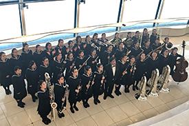 吹奏楽部 日本管楽合奏コンテスト全国大会