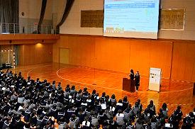 SGH全国高校生フォーラム 文部科学大臣賞受賞の報告会