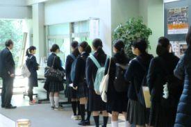 高校一般入試の願書受付