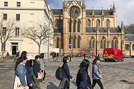 ロンドン市内を観光