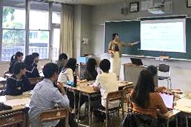 慶應義塾大学S.A.Lによる高大連携授業