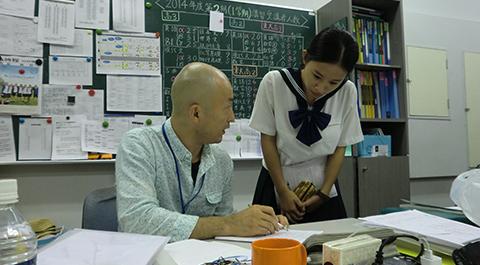 校内予備校講師と生徒