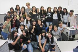 シドニー大学生との交流 シドニー大学生との交流