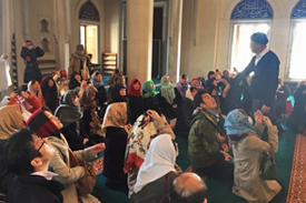 イスラム教寺院訪問
