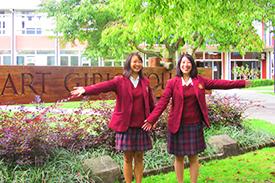 KGGS特進留学コース14期生 現地高校訪問