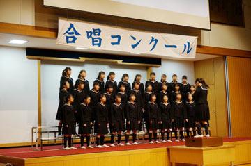 佼成女子の合唱コンクール